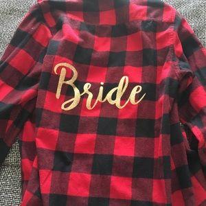 Bride flannel