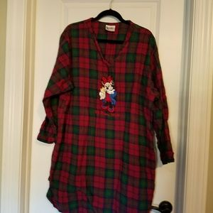 Other - Disney flannel sleep shirt
