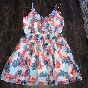 BCBG colorful dress