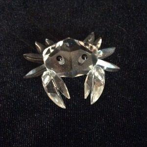 Swarovski crystal Crab