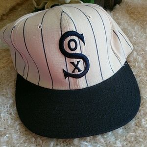 MLB wool cap CHICAGO WHITE SOX sz 7.1/4