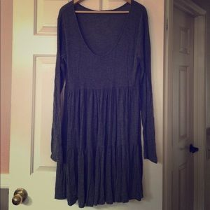 Brandy Melville Oversized Tiered Babydoll Dress