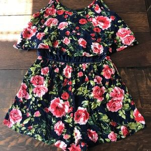 Adorable Floral Romper