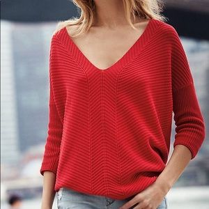 Express London Tunic Sweater- AQUA XS