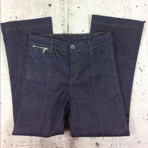 Club Monaco high rise cropped jeans