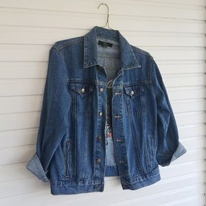 Tiger Patch Denim Jacket
