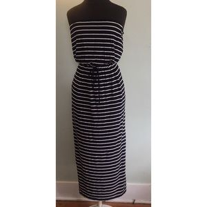 NWOT Jcrew strapless maxi with pockets