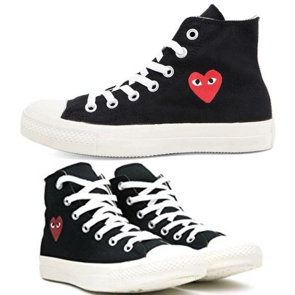4b5decb394f3ab Comme des Garcons Shoes - Comme des garçons play converse high top