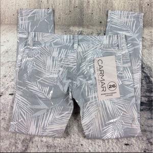 CARMAR skinny printed low waist jeans