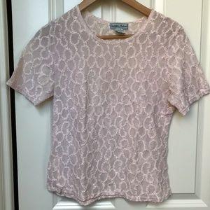 Tops - Vintage Light Pink Top