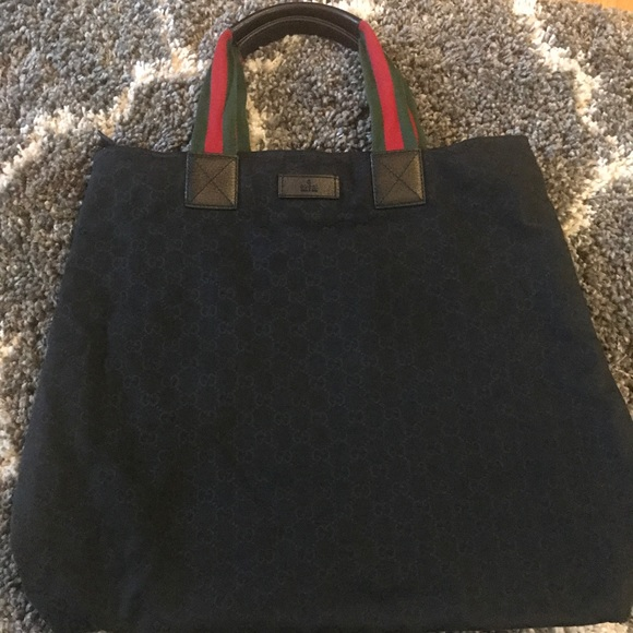 gucci bags used. used vintage gucci tote bag bags