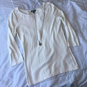 Express off white sweater, size S