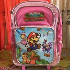 Other - Super Mario backpack with wheels