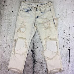 CARMAR LF cropped boyfriend jeans
