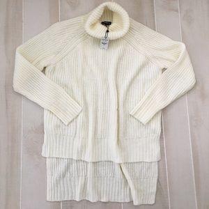 Express Turtleneck Sweater Hi-low Small