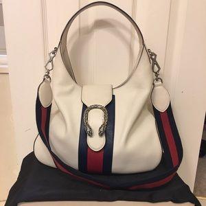 Gucci Dionysus Leather Hobo Bag