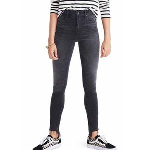 Madewell HR 9 inch skinny jeans
