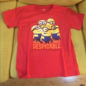 Other - Cute unisex T shirt 👚 fits 6 to 12 years old
