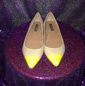 Fashionable Snake leather womens shoe