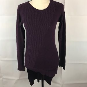 EXPRESS XS Asymmetrical Hi-lo Hem Tunic Sweater