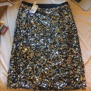 H&m sparkly skirt