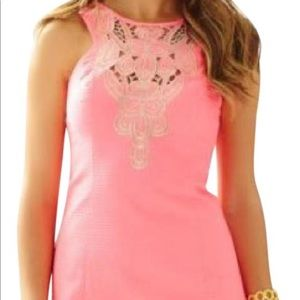 Lilly Pulitzer Pink Largo Cut-In Shift Dress