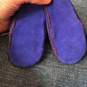 Mili Shoes - Super sweet cobalt blue moccasins