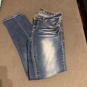 Denim - Wallflower skinny jeans