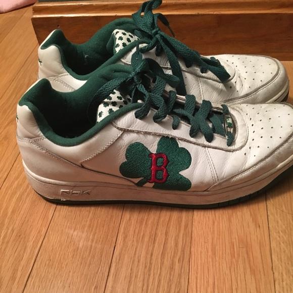 Reebok Boston Red Sox shamrock sneakers RARE