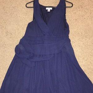 Motherhood Maternity Navy dress