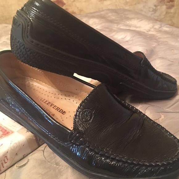 Valleverde Black Loafers Slip On Leather c43Aj5RLq