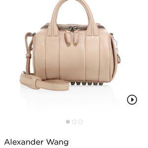 Alexander wang mini rockie pale pink