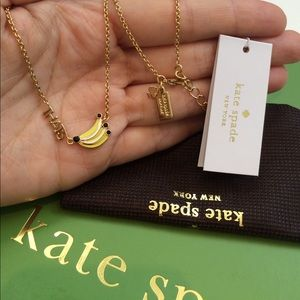 🍌 Kate Spade THAT'S Bananas Pendant Necklace