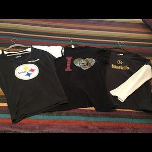 Steelers t-shirts