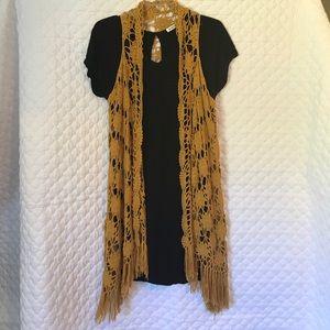 Other - Crotchet Vest with Fringe