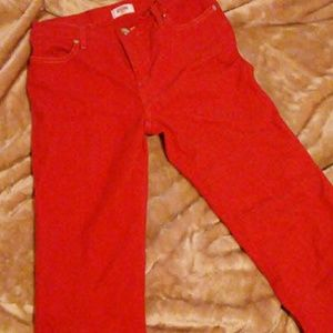 Moschino Jeans In Red Size 30