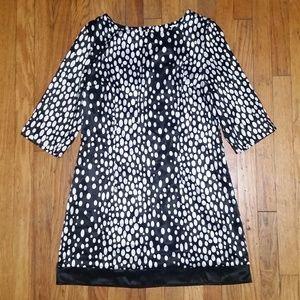 5/$25 Worthington Women's Dress Black/White Medium