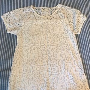 Lace top from madewell