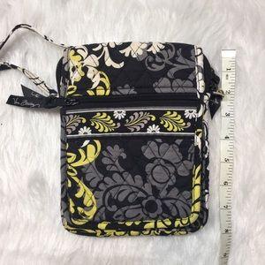 Retired Vera Bradley Mini Crossbody purse black