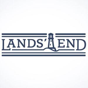 Lands' End Plaid Button Up Flannel Shirt