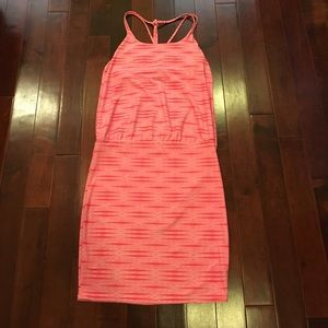 Athleta athletic tennis golf strappy print dress