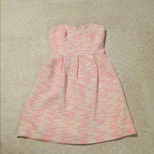 Strapless ATHROPOLOGIE mini dress