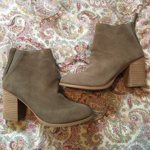 Urban outfitters suede boot