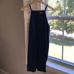 Navy blue Bodycon mini dress