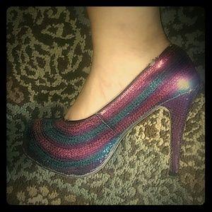 Iron fist heels
