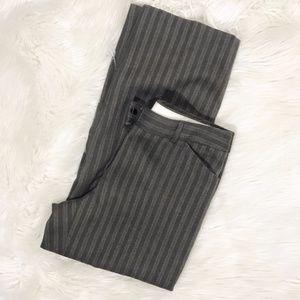 Anthropologie Tape Measure Cropped Career Pants