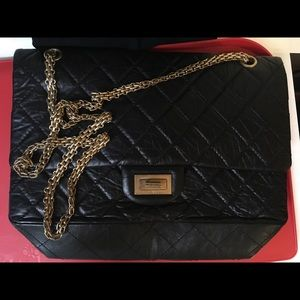 Chanel Classic Flap Body Large Quited Back Beauty