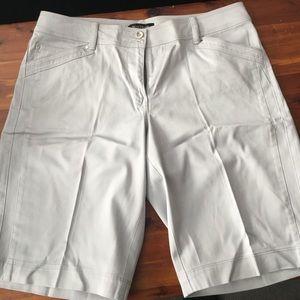 White House Black Market Grey Shorts