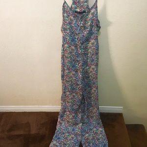 Zara flower jumpsuit. Size S