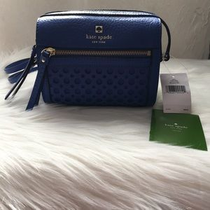 NWT Kate Spade Royal Blue Crossbody Bag